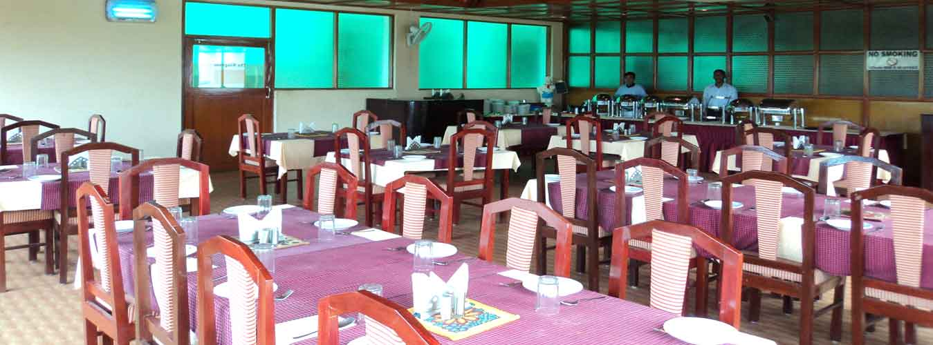 Restaurant at Hotel Mainak